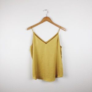 Express Yellow Downtown Cami